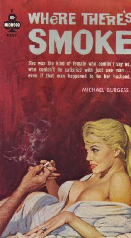 Vintage Books - Where There's Smoke - Michael Burgess
