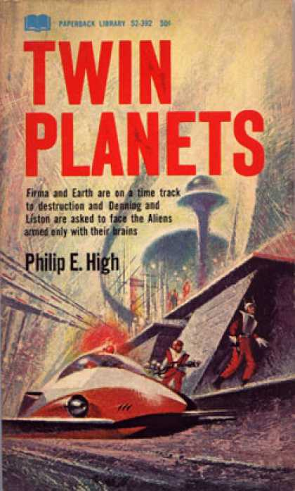 Vintage Books - Twin Planets - Philip E. High