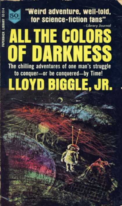 Vintage Books - All the Colors of Darkness - Lloyd Biggle Jr