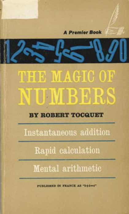 Vintage Books - The Magic of Numbers - Robert Tocquet