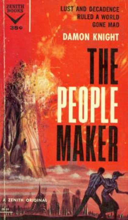 Vintage Books - The People Maker - Damon Knight