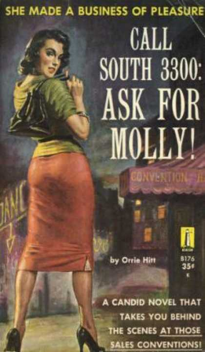 Vintage Books - Call South 3300: Ask for Molly!