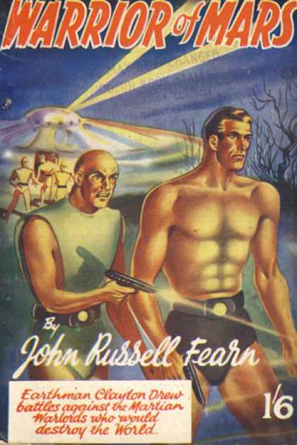 Vintage Books - Warrior of Mars - John Russell Fearn