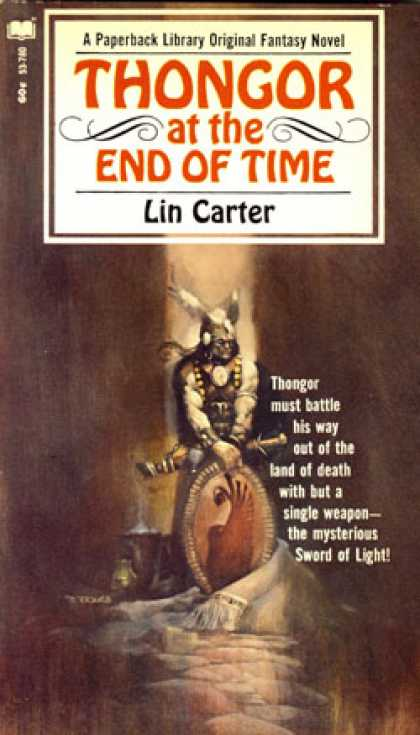 Vintage Books - Thongor at the End of Time - Lin Carter