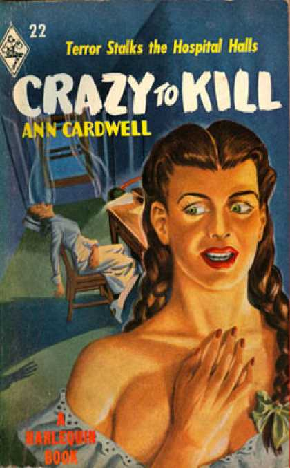 Vintage Books - Crazy To Kill - Ann Cardwell