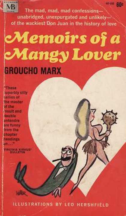 Vintage Books - Memoirs of a Mangy Lover - Groucho Marx