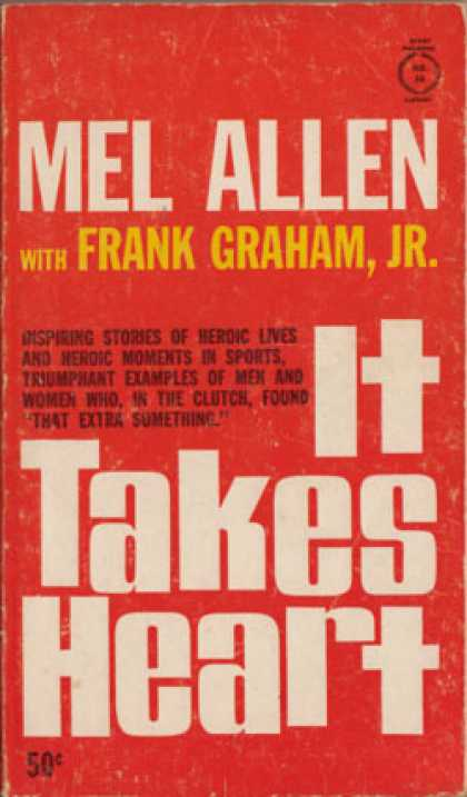 Vintage Books - It Takes Heart, - Mel Allen