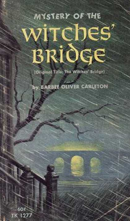 Vintage Books - Mystery of the Witches' Bridge - Barbee Oliver Carleton