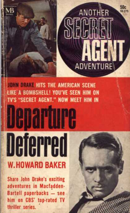 Vintage Books - Departure Deferred: Another Secret Agent Adventure