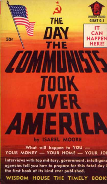 Vintage Books - The Day the Communists Took Over America - Isabel Moore