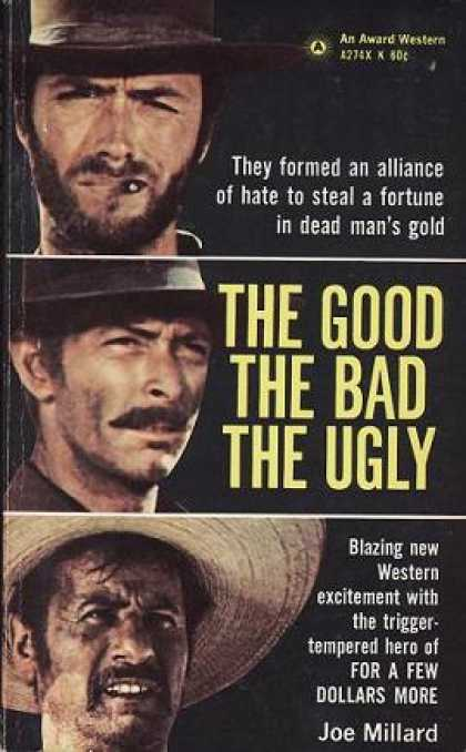 Vintage Books - Good the Bad & the Ugly - Joe Millard