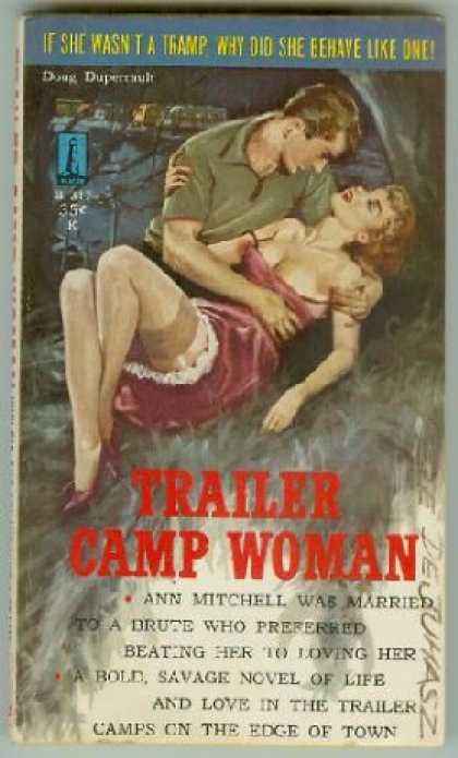 Vintage Books - Trailer Camp Woman - Doug Duperrault