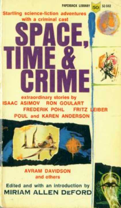 Vintage Books - Space, Time and Crime - Miriam Allen De Ford
