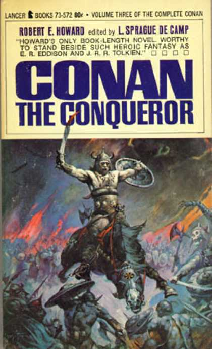 Vintage Books - Conan the Conqueror - Robert E. Howard