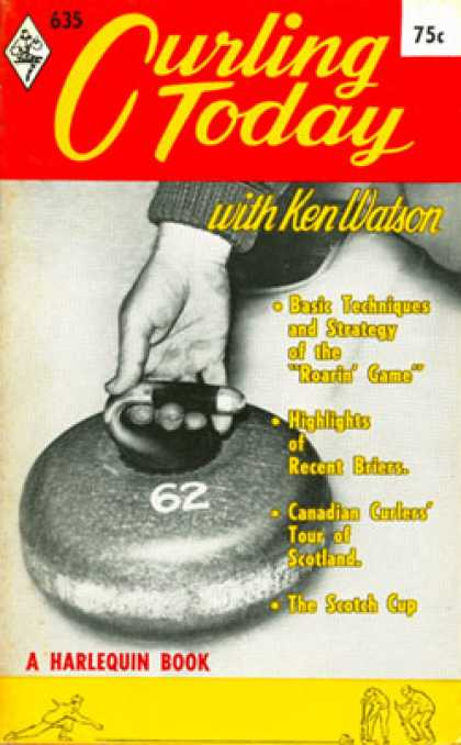 Vintage Books - Curling Today With Ken Watson - Ken Watson