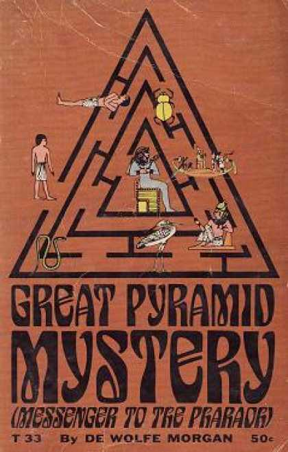 Vintage Books - Great Pyramid Mystery - De Wolfe Morgan