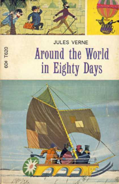 Vintage Books - Around the World In Eighty Days