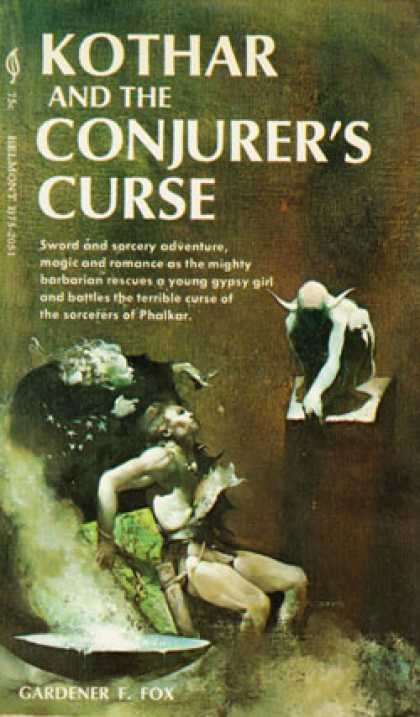 Vintage Books - Kothar and the Conjurer's Curse