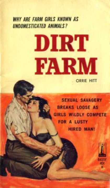 Vintage Books - Dirt Farm - Orrie Hitt