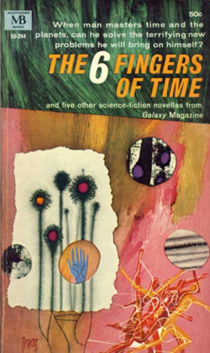 Vintage Books - The 6 Fingers of Time - R. A. Lafferty