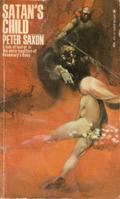 Vintage Books - Satan's Child - Peter Saxon