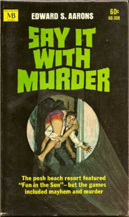 Vintage Books - Say it with murder - Edward S. Aarons