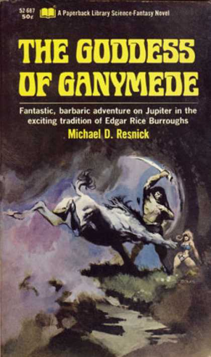 Vintage Books - Goddess of Ganymede - Michael Resnick