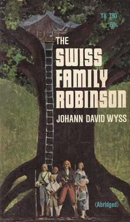 Vintage Books - The Swiss Family Robinson