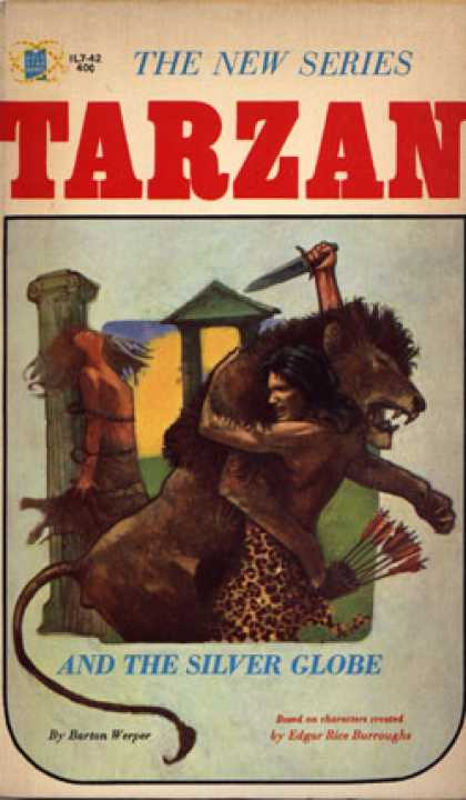 Vintage Books - Tarzan and the Silver Globe - Barton Werper
