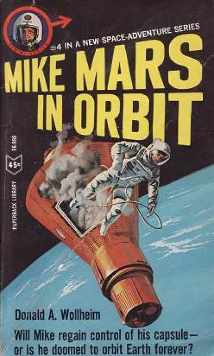 Vintage Books - Mike Mars In Orbit :mike Mars 4 - Wollheimdonalda