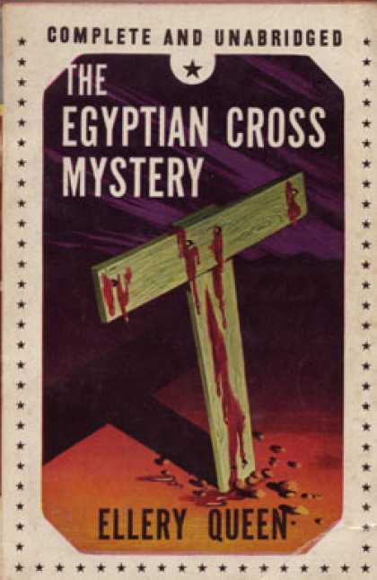 Vintage Books - The Egyptian Cross Mystery - Ellery Queen