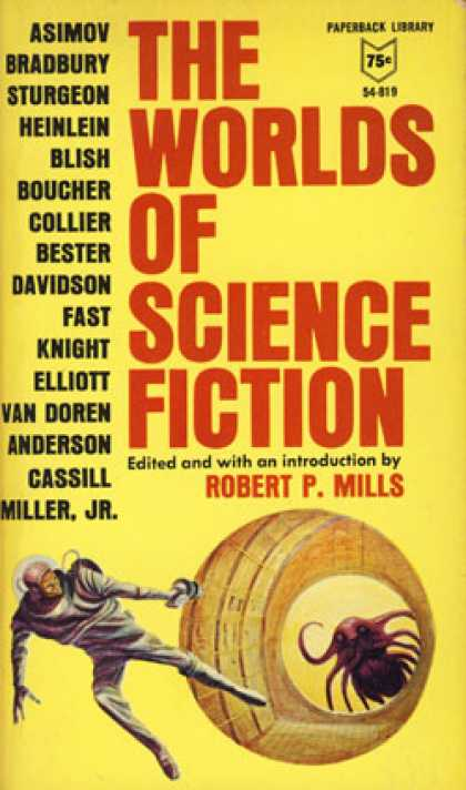 Vintage Books - The Worlds of Science Fiction - Robert P. Mills