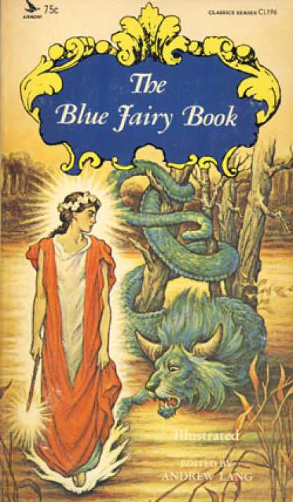 Vintage Books - The Blue Fairy Book
