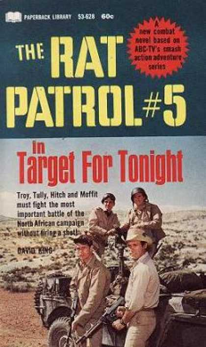 Vintage Books - The Rat Patrol #3 In the Trojan Tank Affair