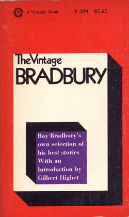 Vintage Books - The Vintage Bradbury;: Ray Bradbury's Own Selection of His Best Stories - Ray Br