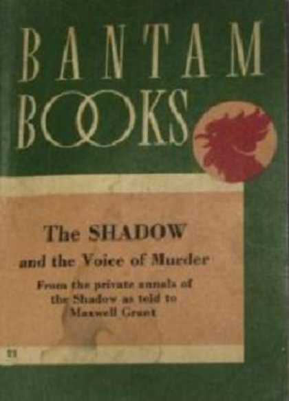 Vintage Books - The Shadow and the Voice of Murder