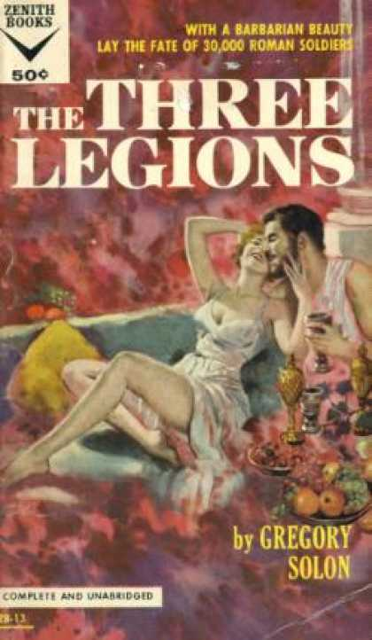 Vintage Books - The Three Legions - Gregory Solon