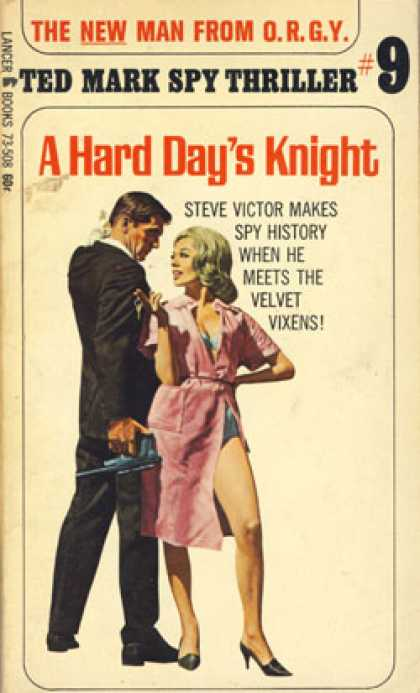 Vintage Books - A Hard Day's Knight - Ted Mark