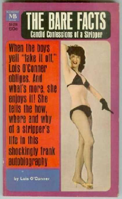 Vintage Books - Memoirs of a Stripper - Lois O'conner