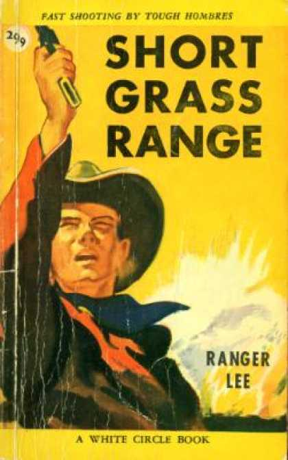 Vintage Books - Short Grass Range - Ranger Lee