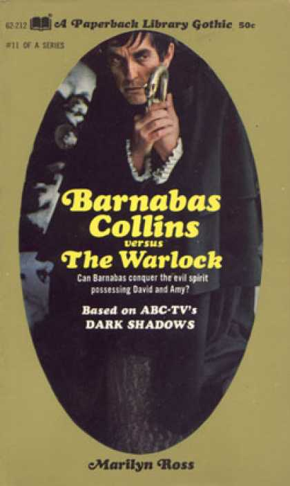 Vintage Books - Barnabas Collins Vs. the Warlock - Marilyn Ross