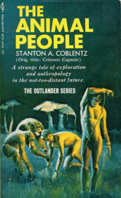 Vintage Books - The Animal People - Stanton A. Coblentz