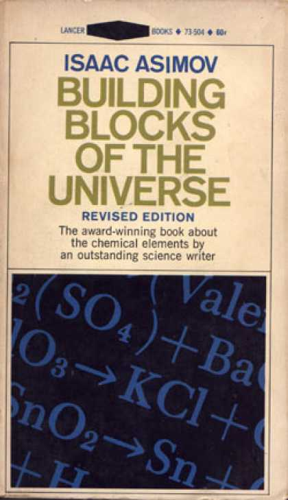Vintage Books - Building Blocks of the Universe - Isaac Asimov