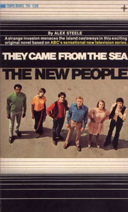 Vintage Books - The New People: They Came From the Sea - Alex Steele