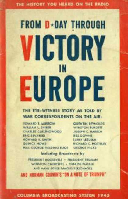 Vintage Books - From D-day Through Victory In Europe