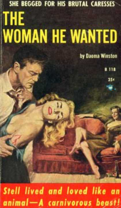 Vintage Books - The Woman He Wanted - Daoma Winston