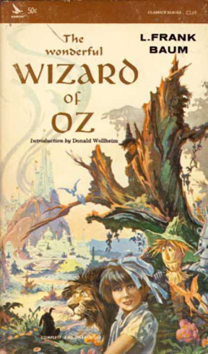 Vintage Books - The Wizard of Oz