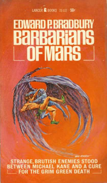 Vintage Books - Barbarians of Mars