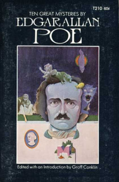 Vintage Books - Ten Great Mysteries By Edgar Allan Poe