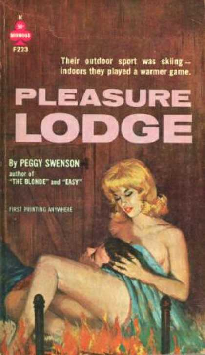 Vintage Books - Pleasure Lodge - Peggy Swenson